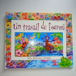 Other - 2/20🎄In rtavail de fourmi French Pop-up book